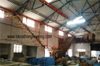 Overhead Conveyor for Tannery
