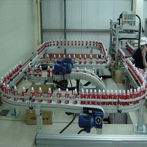 Monorail Conveyor for Beverage Industries