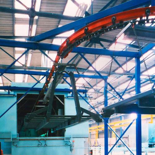 Overhead Chain Conveyor, Chain Conveyors, Chain Conveyor System